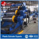 Chaîne de production rigide d'extrusion de panneau de feuille d'ABS en plastique simple de plaque