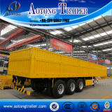 Side Wall Cargo Semi Truck Trailer para Agricultura