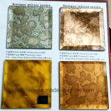 3-12mm時代物の家具のためのまた大きい装飾の壁の骨董品ミラーガラス