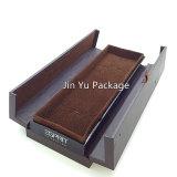 Коробка индикации ювелирных изделий подарка ювелирных изделий тавра Jy-Jb180 пластичная кожаный