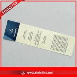 Хлопок Wash Care Label для Garment