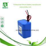 18650 batería del Li-ion 4000mAh 12V para el faro de la pesca