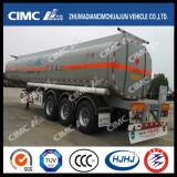 Cimc camion-citerne de carburant/essence d'axe de l'acier du carbone de Huajun 18.5-45cbm 3/Oil/LPG