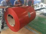 La couleur de la couche de peinture 25/11micron Z40-90 a enduit la bobine en acier galvanisée PPGI