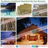 Sguardo naturale caraibico del Thatch di plastica sintetico ignifugo della palma