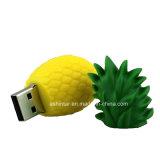 Mecanismo impulsor del flash del USB del PVC de la fresa del USB Pendrive de las frutas de la historieta