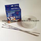 Envoltório branco do encabeçamento da exaustão da fibra de vidro 50 pés (L) * 2 polegadas (W)