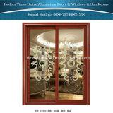 Portas exteriores de alumínio de portas interiores das cores diferentes