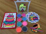 A massa de pão mágica do jogo da espuma da argila de esfera da espuma que modela Clay/24 colore a massa de pão do jogo dos miúdos
