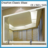 3-6mmセリウム及びISO9001の装飾的なミラーのための長方形ミラーガラス