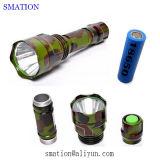 Tocha de acampamento tática a mais brilhante solar do diodo emissor de luz de Fashing da lanterna elétrica recarregável do diodo emissor de luz da melhor bateria