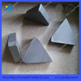 Extremidades de Brzing del tungsteno Yg6/Yg8 en la dimensión de una variable del triángulo para moler