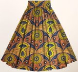 Одежда женщин оптовой печати воска изготовления африканской макси