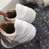 Spätester Anti-Fleck 2017 weiße Dame lederne Schuhe, Frauen-Turnschuh, Art Nr.: Beiläufiges Shoes-Michael002. Zapatos