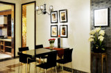A mobília parte os gabinetes de cozinha acrílicos do lustro elevado (zv-013)