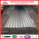 Chapa de aço ondulada do Galvalume de ASTM A792 Az150