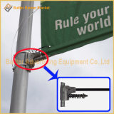 Уличный свет Поляк металла рекламируя вешалку флага (BS-BS-022)