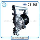Pompe à diaphragme d'air de transfert de pétrole brut d'acier inoxydable