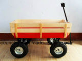 Рука Beach Wooden Wagon с Wooden Rails & Air Tires