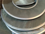 50 Mikron-Edelstahl-runde Metallfilter-Platte für Plastikfiltration