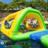 Che fa galleggiare la corsa ad ostacoli dell'acqua i giochi Waterpark gonfiabile gigante gioca LG8017