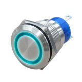 SGS Illuminated 19m m Micro Metal Push Button Power Switch