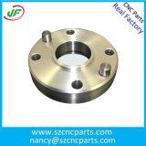 Pezzo meccanico di giro del tornio di CNC della parte di CNC dell'alluminio della parte di metallo