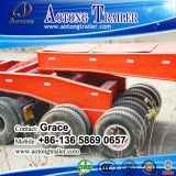 China Factory Schwer-Aufgabe Low Bed Truck Trailer mit Dolly, Trailer Dolly, Towing Dolly Trailer, Dolly Semi Trailer, Semi Trailer Dolly für Sale