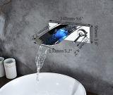 Lumière de robinet du robinet DEL de cascade à écriture ligne par ligne de DEL aucune batterie