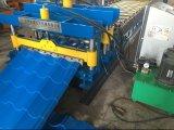 Rolo hidráulico automático da telha de telhado de Dx bom que dá forma à máquina