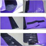 Dunkelrote Großhandelsfarben-Plastikverpackungs-Beutel für Kleid