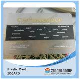 플라스틱 PVC 카드 자석 줄무늬 카드 Barcode 카드