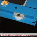 Justierbares Regal-Stahlspeicher-Schrank der schiebendes Glas-Tür-4