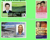Modificar la tarjeta de la foto para requisitos particulares de la identificación para el empleado/los estudiantes/los visitantes