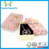 Custom Logo Printed Folding Paper Jewelry Necklace Box
