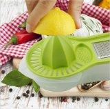 Limpiador de limón de plástico Cocina naranja Jucer Homeuse Juicer mano