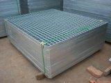 Decking galvanisé de maille de fil d'acier de la Manche inversée pour le défilement ligne par ligne de palette (SL-0019)