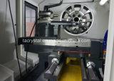 O reparo da roda de carro utiliza ferramentas a máquina do mag da estaca do diamante