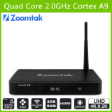 TV Box Best Customized Quad Core Android TV Box с Amlogics802 и 2GB RAM, Pre-Installed Perfect Kodi14.2