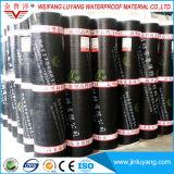 Membraan van het Dakwerk van het Bitumen van de Levering van China het Zelfklevende Sbs Gewijzigde Waterdichte