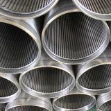 Tubo filtrante del tamiz del receptor de papel de agua del acero inoxidable 316L del surtidor