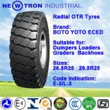 Neumático de OTR, parte radial del neumático 29.5r25 E-3/L-3 del camino