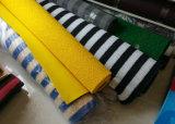 Folha de borracha antiderrapante, esteira da bobina do PVC com revestimento protetor firme