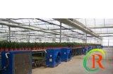 El Extractor con agua caliente para calefacción del invernadero