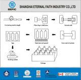 Cilindro de gás portátil pequeno da liga de alumínio do oxigênio