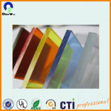 China transparentes 4ft x 6ft dünn 7mm Acryl-Blatt
