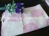 Gesponnene reine Baumwollbaby-Decke