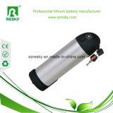 Batería de la botella de agua del ion 9ah 36V del litio para la bici eléctrica de Akku Moutain