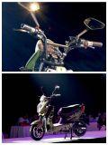 motocicleta elétrica do projeto da patente 60V800W com motor de Bosch