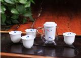 Taza de té del conjunto de té de la porcelana del shell de Kungfu